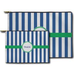 Stripes Zipper Pouch (Personalized)