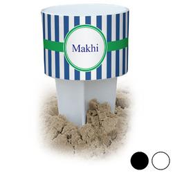 Stripes Beach Spiker Drink Holder (Personalized)