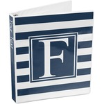 Horizontal Stripe 3-Ring Binder (Personalized)