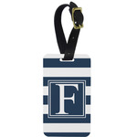 Horizontal Stripe Aluminum Luggage Tag (Personalized)