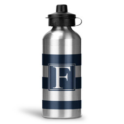 Horizontal Stripe Water Bottle - Aluminum - 20 oz (Personalized)
