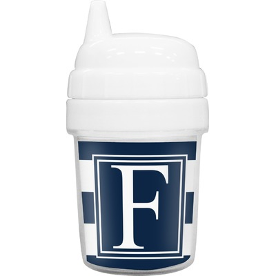 Horizontal Stripe Baby Sippy Cup (Personalized)
