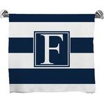 Horizontal Stripe Bath Towel (Personalized)