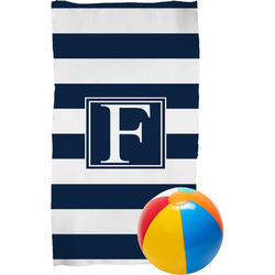 Horizontal Stripe Beach Towel (Personalized)