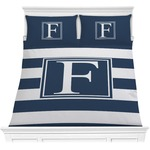 Horizontal Stripe Comforter Set (Personalized)