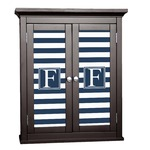 Horizontal Stripe Cabinet Decal - Custom Size (Personalized)