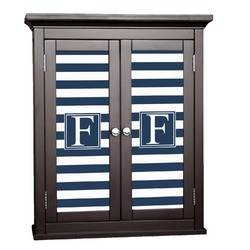 Horizontal Stripe Cabinet Decal - Large (Personalized)