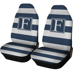 Horizontal Stripe Car Seat Covers (Set of Two) (Personalized)