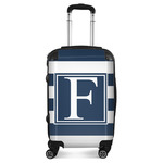 Horizontal Stripe Suitcase (Personalized)