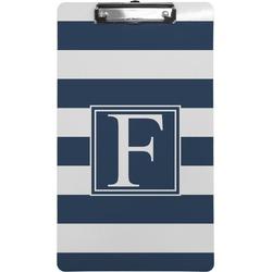 Horizontal Stripe Clipboard (Legal Size) (Personalized)