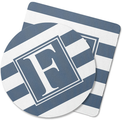 Horizontal Stripe Rubber Backed Coaster (Personalized)