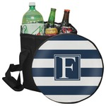 Horizontal Stripe Collapsible Cooler & Seat (Personalized)