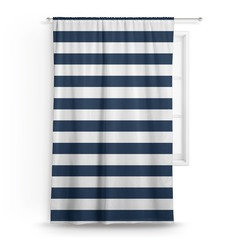 "Horizontal Stripe Curtain - 50""x84"" Panel (Personalized)"