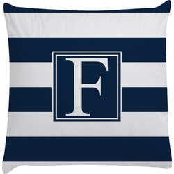 Horizontal Stripe Decorative Pillow Case (Personalized)
