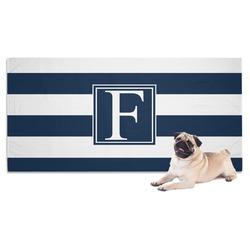 Horizontal Stripe Pet Towel (Personalized)