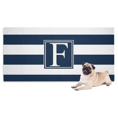 Horizontal Stripe Dog Towel (Personalized)