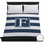 Horizontal Stripe Duvet Cover (Personalized)