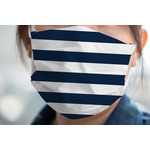 Horizontal Stripe Face Mask Cover (Personalized)