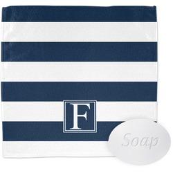 Horizontal Stripe Wash Cloth (Personalized)