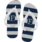 Horizontal Stripe Flip Flops (Personalized)