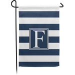 Horizontal Stripe Garden Flag - Single or Double Sided (Personalized)