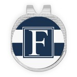 Horizontal Stripe Golf Ball Marker - Hat Clip
