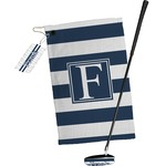 Horizontal Stripe Golf Towel Gift Set (Personalized)