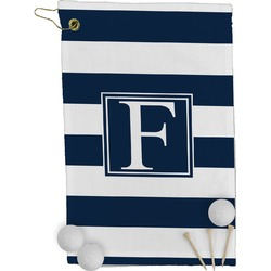 Horizontal Stripe Golf Towel - Full Print (Personalized)