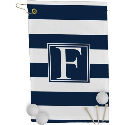 Horizontal Stripe Golf Towel - Full Print (Personalized)