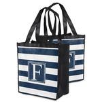 Horizontal Stripe Grocery Bag (Personalized)