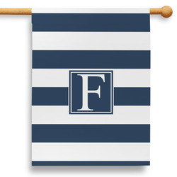 "Horizontal Stripe 28"" House Flag (Personalized)"