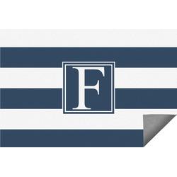 Horizontal Stripe Indoor / Outdoor Rug (Personalized)