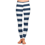 Horizontal Stripe Ladies Leggings (Personalized)
