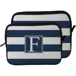 Horizontal Stripe Laptop Sleeve / Case (Personalized)