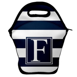 Horizontal Stripe Lunch Bag (Personalized)