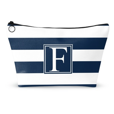 Horizontal Stripe Makeup Bags (Personalized)