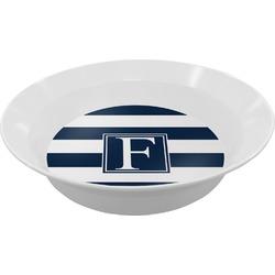 Horizontal Stripe Melamine Bowl - 12 oz (Personalized)