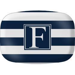 Horizontal Stripe Melamine Platter (Personalized)