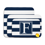 Horizontal Stripe Memory Foam Bath Mat (Personalized)