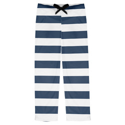 Horizontal Stripe Mens Pajama Pants (Personalized)