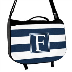 Horizontal Stripe Messenger Bag (Personalized)