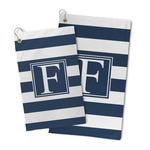 Horizontal Stripe Microfiber Golf Towel (Personalized)