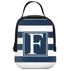 Horizontal Stripe Neoprene Lunch Tote (Personalized)