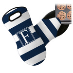 Horizontal Stripe Neoprene Oven Mitt (Personalized)