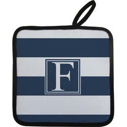 Horizontal Stripe Pot Holder (Personalized)