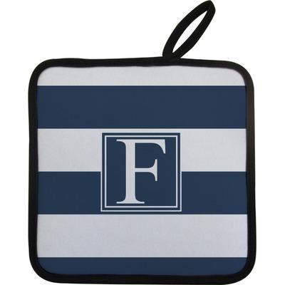 Horizontal Stripe Pot Holder (Personalized)