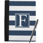 Horizontal Stripe Notebook Padfolio (Personalized)
