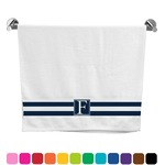 Horizontal Stripe Bath Towel (Personalized)