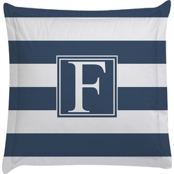 Horizontal Stripe Euro Sham Pillow Case (Personalized)
