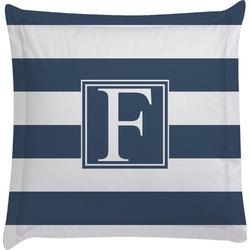 Horizontal Stripe Euro Sham Pillow Case (Personalized)